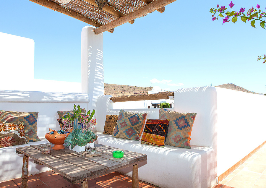 terraza mediterránea