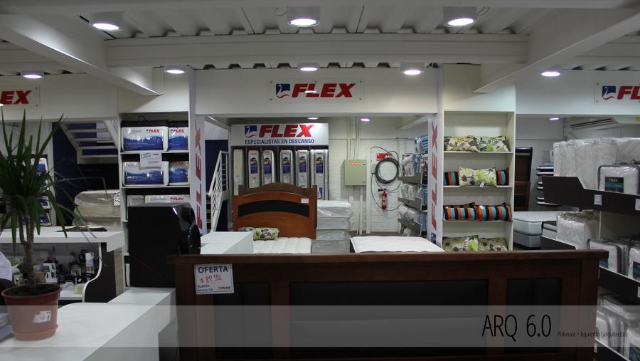 Tienda flex easton center ideas arquitectos - Proyecto local comercial ...