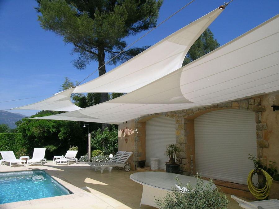 Toldos sombrillas y p rgolas disfruta de la sombra en - Toldos de tela para terrazas ...