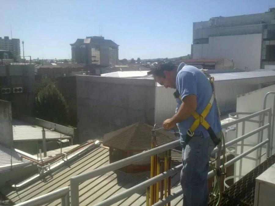 Trabajos de soldadura Planta Movistar Temuco