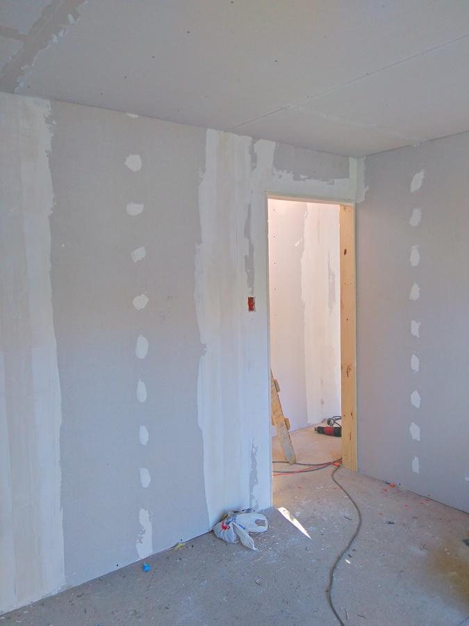 Construcci n de caba a fundo san francisco comuna de san for Planchas de yeso carton