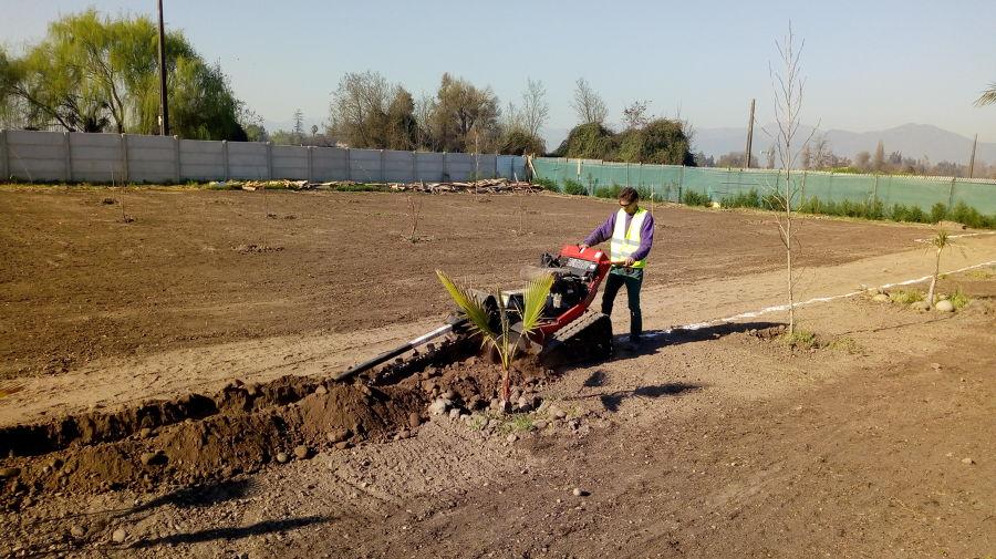 trazado y excavaciones