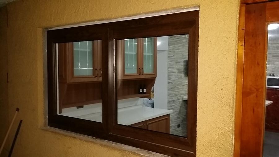 ventanas de pvc nogal termopanel ideas vidrieros