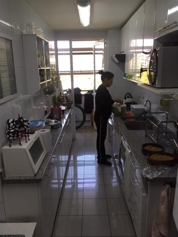 Vista antigua cocina