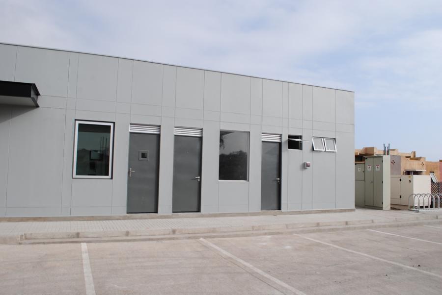 vista exterior del proyecto.