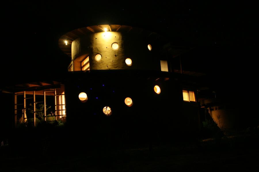 Vista Nocturna Poniente