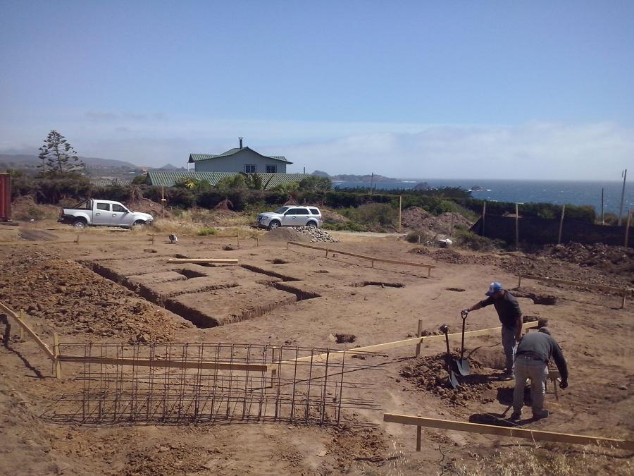 vista panoramica zona de fundaciones