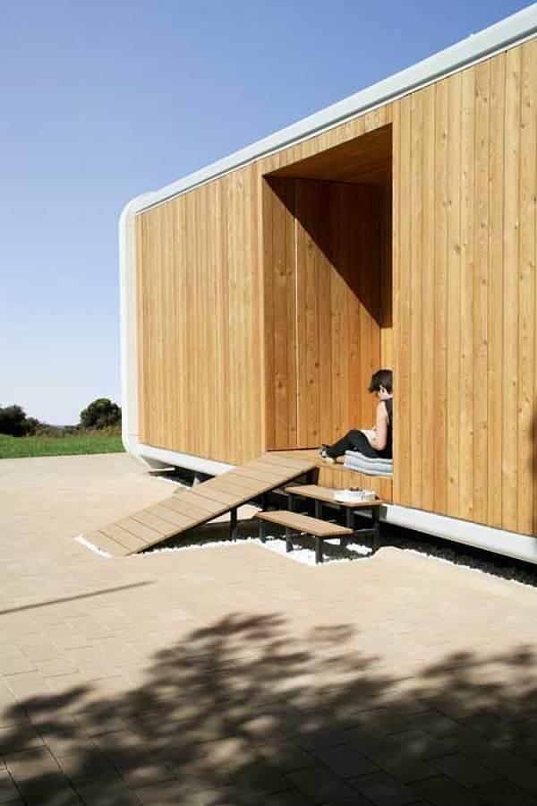 Vivienda prefabricada de madera