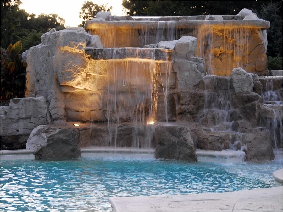 cascada de piedra