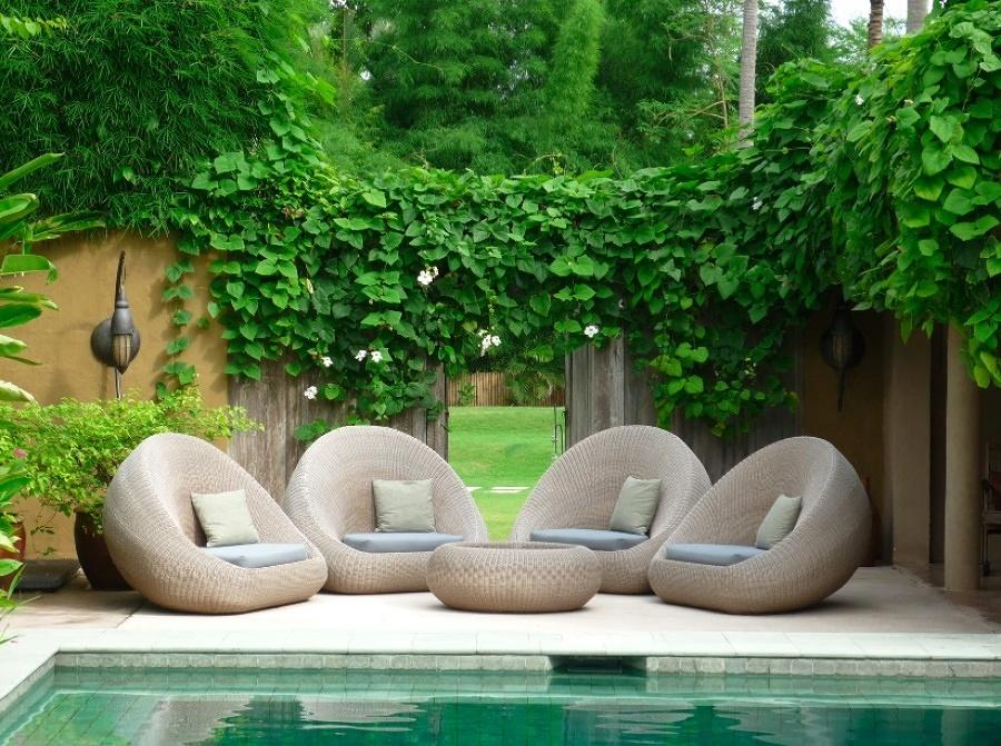 Chill out en jardín