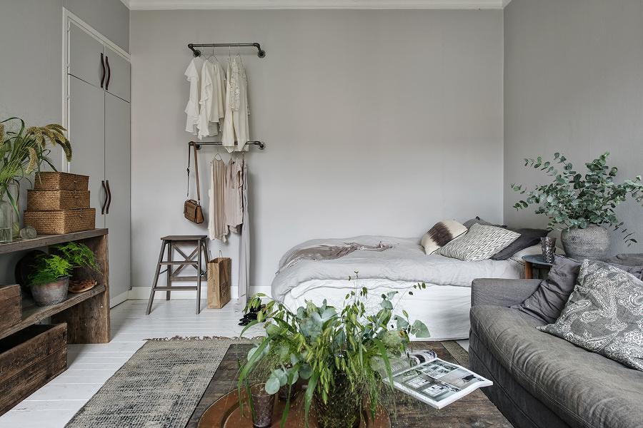 Zona de la cama