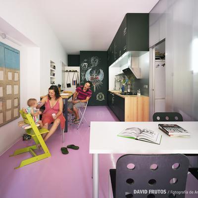 Una casa remodelada gracias a tres materiales innovadores