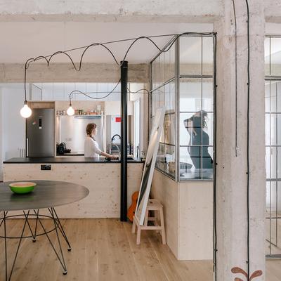 Una remodelación para lograr una casa sin pasillos