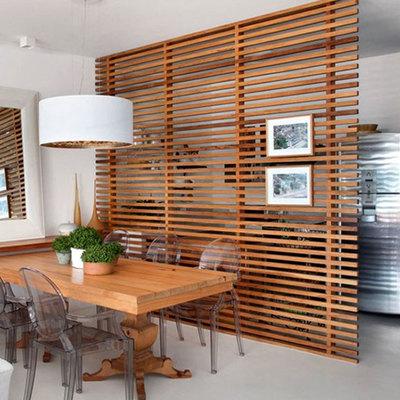 Cómo integrar las lamas de madera en tu hogar