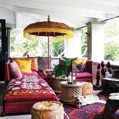 Claves para crear un ambiente bohemio en tu terraza