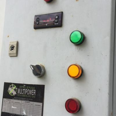Instalación de panel de control