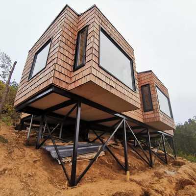 Construccion Casa Bakal - Niebla, Valdivia
