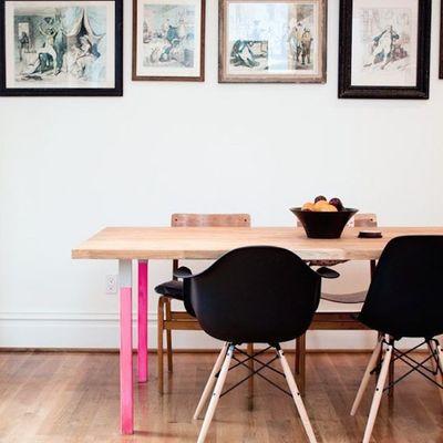 5 formas de introducir el color dipping en tu decoración