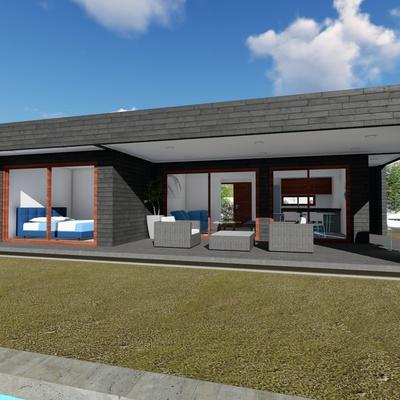 Casa Alerce Premium 71 mt2 + 38 mt2 Terraza
