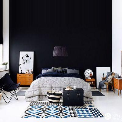 dormitorio-pintado-color-oscuro