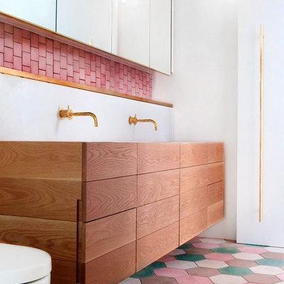11 pisos de baño para 11 estilos diferentes