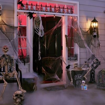 Halloween ya está aquí ¡Crea el ambiente más terrorífico para tu casa!