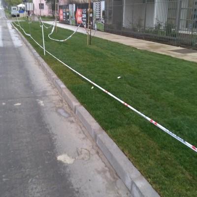 Proyecto de acceso y veredas edifico Parque Gauss  bajo Normativa Serviu, Av.Lazo N° 1315