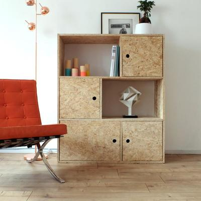 7 muebles de OSB que puedes construir para tu hogar