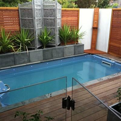Piscinas de fibra de vidrio, piscinas exprés