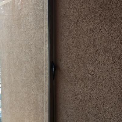 Instalación de cierre de terraza en piso 24 Santiago centro