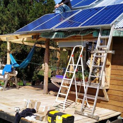 Proyecto Solar Rio Puelo (Cochamó)