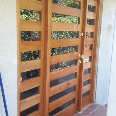 Puertas en rauli