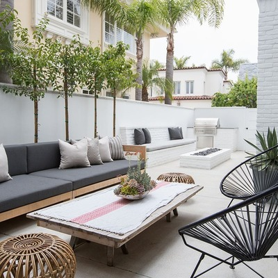 Tu living en la terraza: qué no te puede faltar