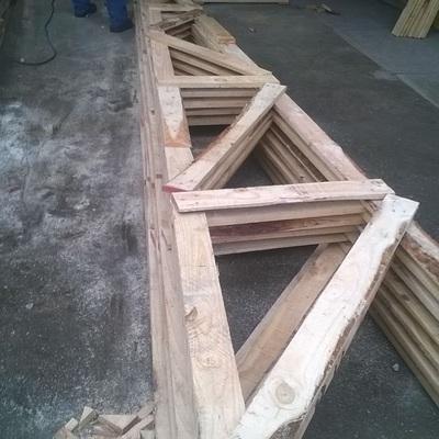 Construccion cobertizo Chillan VIII region