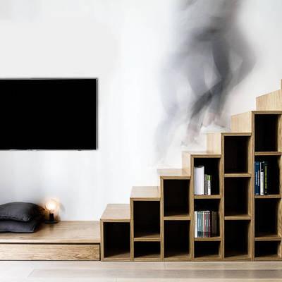 Gana espacio con estas increíbles ideas de almacenaje en el piso