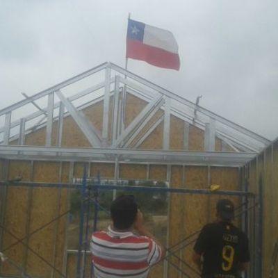 Construcción de casa.