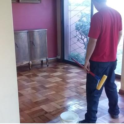 Restauración de un piso de Parquet.