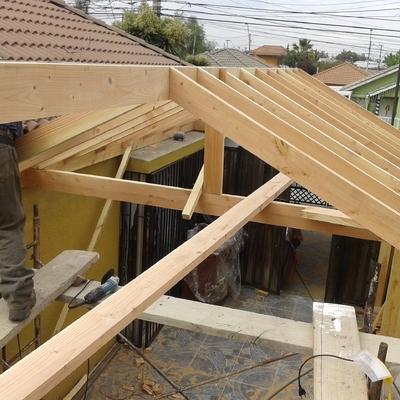 Ideas de construcci n casa en regi n metropolitana for Cobertizo de madera ideas de disenos