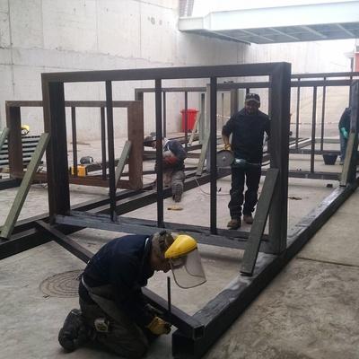 Construcción y Montaje de escaleras para el Estadio La Portada de La Serena