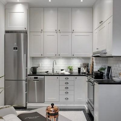 8 cocinas pequeñas donde todo tiene su lugar