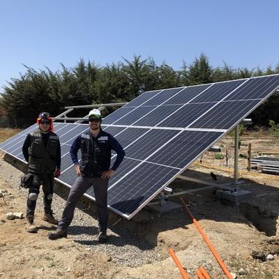 Colaboración en Instalación Fotovoltaica Ongrid 10 kW
