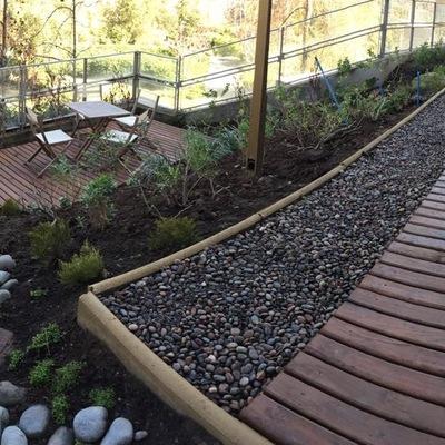 Construcción jardin