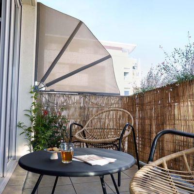 Cómo proteger tu balcón de las miradas ajenas