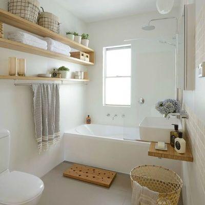 Descubre 6 baños que aprovechan sus metros al máximo