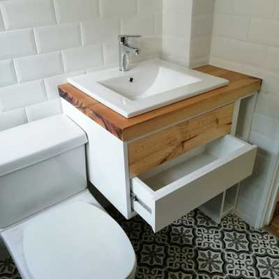 remodelacion parcial en baño