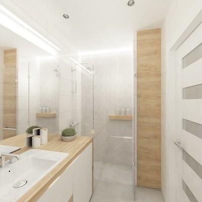 Cómo hacer que tu baño luzca más grande y luminoso