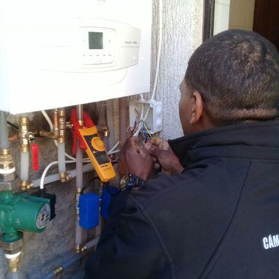 Calefacción central casa