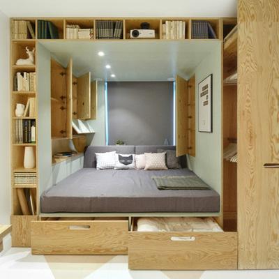 10 camas para ahorrar espacio en tu pieza