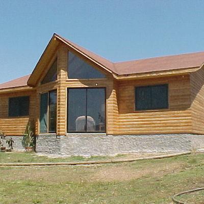 Casa de madera 130 m2