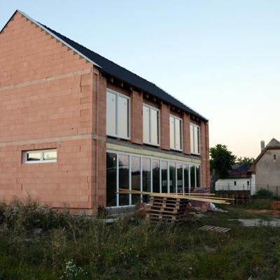 Casa Beroun (en construcción).